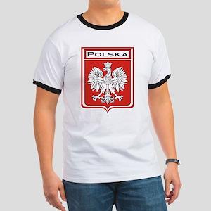Polska Shield / Poland Shield Ringer T