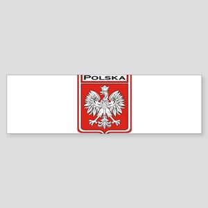 Polska Shield / Poland Shield Sticker (Bumper)
