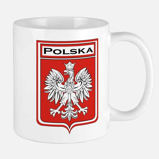 Polska Shield / Poland Shield Mug