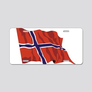 NORWAY-wavy Aluminum License Plate