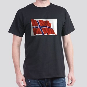 NORWAY-wavy Dark T-Shirt