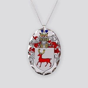 McCarthy Family Crest Necklace Oval Charm