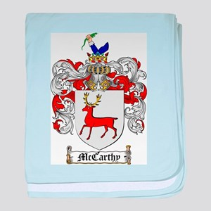McCarthy Family Crest baby blanket