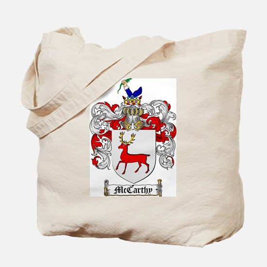 McCarthy Family Crest Tote Bag