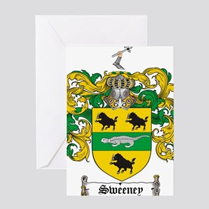Sweeney family crest stationery cafepress product name greeting card altavistaventures Image collections