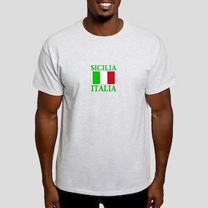 Sicilia, Italia Ash Grey T-Shirt