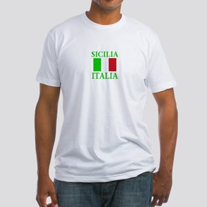 Sicilia, Italia Fitted T-Shirt
