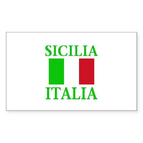 Sicilia, Italia Rectangle Sticker