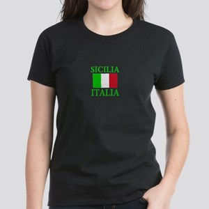 Sicilia, Italia Women's Dark T-Shirt