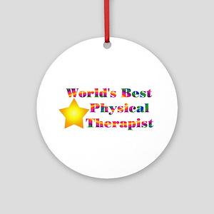 World's Best PT Ornament (Round)