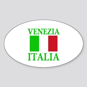 Venezia, Italia Oval Sticker