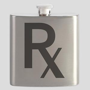 Pharmacy Rx Symbol Flask
