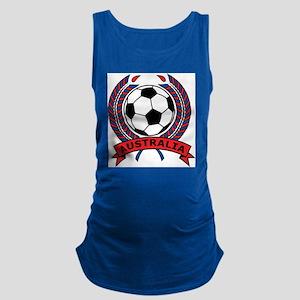 Australia Soccer Maternity Tank Top