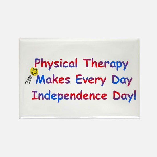 P.T. Independence Day Rectangle Magnet