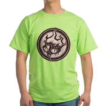 Distressed Wild Beaver Stamp Light T-Shirt