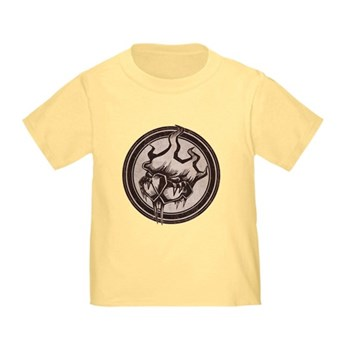 Distressed Wild Beaver Stamp Infant/Toddler T-Shir