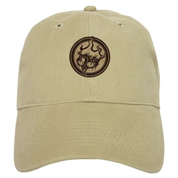 Distressed Wild Beaver Stamp Cap