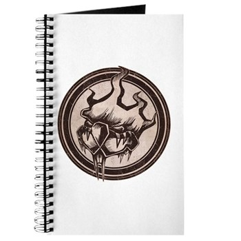 Distressed Wild Beaver Stamp Journal