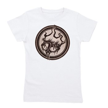 Distressed Wild Beaver Stamp Girl's Tee