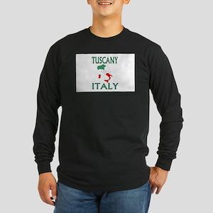 Tuscany, Italy Long Sleeve Dark T-Shirt