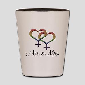 Mrs. and Mrs. Shot Glass