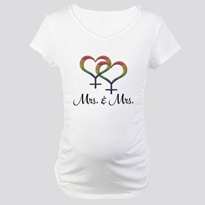 Mrs. and Mrs. Maternity T-Shirt