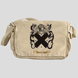 Cristian Coat of Arms Messenger Bag