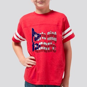 Puerto rico fanatic trans Youth Football Shirt