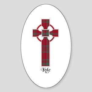 Cross - Kyle Sticker (Oval)