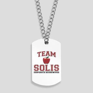 Team Solis Dog Tags