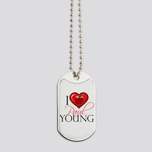 I Heart Paul Young Dog Tags