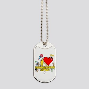 I Heart Schoolhouse Rock! Dog Tags