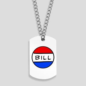 Bill Button Dog Tags