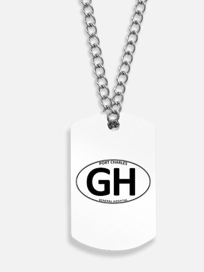 General Hospital - GH Oval Dog Tags