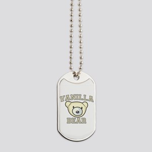 Vanilla Bear Dog Tags