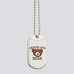 Chocolate Bear Dog Tags