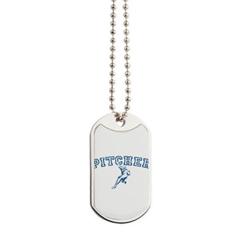 Pitcher - Blue Dog Tags