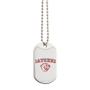 Catcher - Red Dog Tags