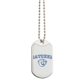 Catcher - Blue Dog Tags