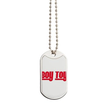 Boy Toy - Red Dog Tags