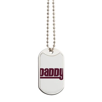 Daddy - Red Dog Tags