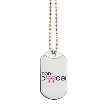 Non-Breeder - Female Dog Tags