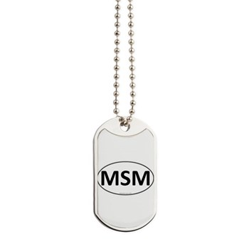 MSM Euro Oval Dog Tags