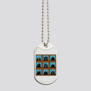 Presidential Squares Dog Tags