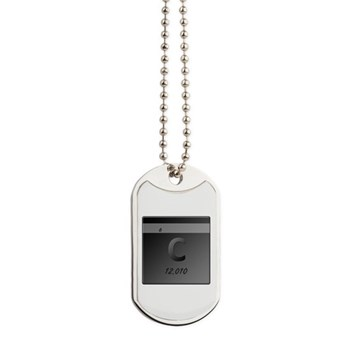 Carbon (C) Dog Tags