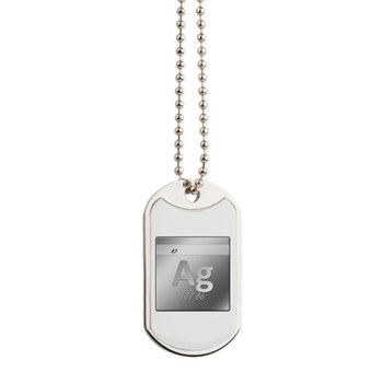 Silver (Ag) Dog Tags