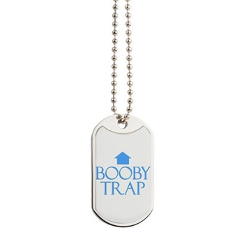Booby Trap Dog Tags