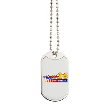 I Piss Excellence Dog Tags