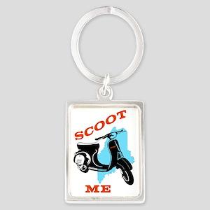 Scoot ME Portrait Keychain