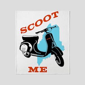 Scoot ME Throw Blanket